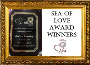 HOF SEA OF LOVE AWARD